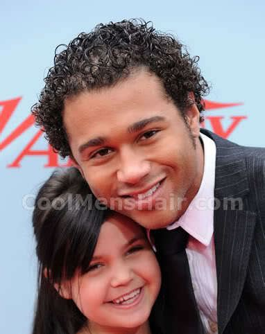 Corbin Bleu Hairstyle by Corbin Bleu Curly Hairstyles Afro Hair