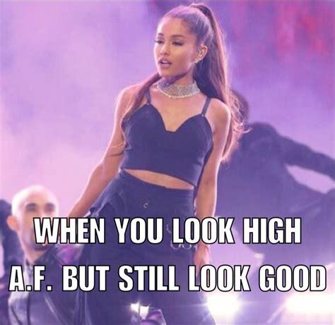 Ariana Grande Meme - 4 memes of ariana grande looking stoned gallery ebaum