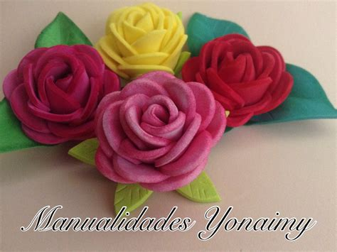 Rosas Pequenas De Foamy O Goma Eva Small Foam Roses | rosas peque 209 as de foamy o goma eva small foam roses
