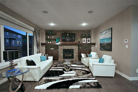 home and design show edmonton cameron model show home contemporary living room