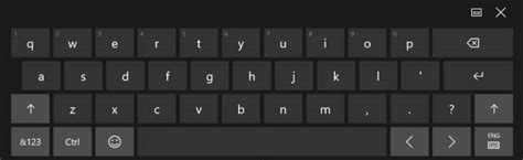 keyboard layout standard add standard full keyboard layout to touch keyboard in