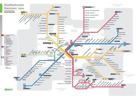 rail map germany hannover rail map