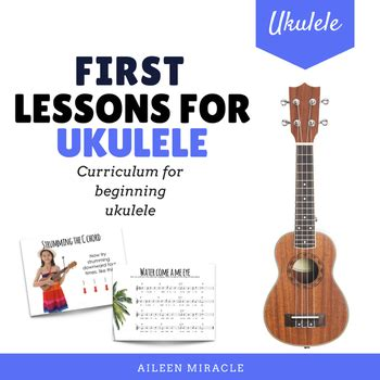 lessons for ukulele aileen miracle teaching resources teachers pay teachers