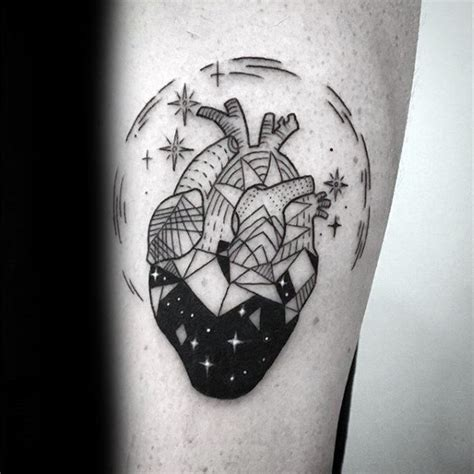 starry sky tattoo 50 geometric designs for symmetrical ideas