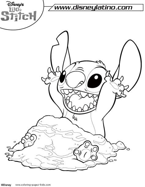free lilo and stitch coloring pages to print lilo and stitch colouring pages