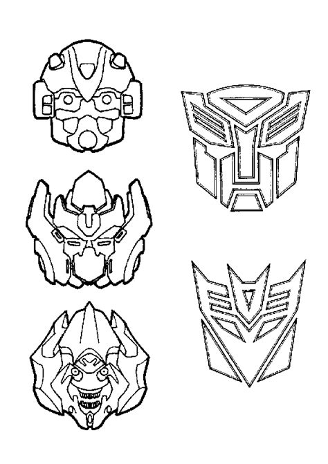 Transformers Coloring Pages Free Printable Coloring Transformer Printable Coloring Pages