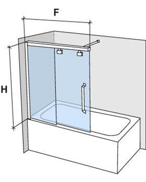 parois de largeur 160 pare baignoire coulissant