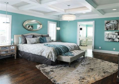 Modern Master Bedroom Paint Colors by Cool Drizzle Blue Sherwin Williams Contemporary Master