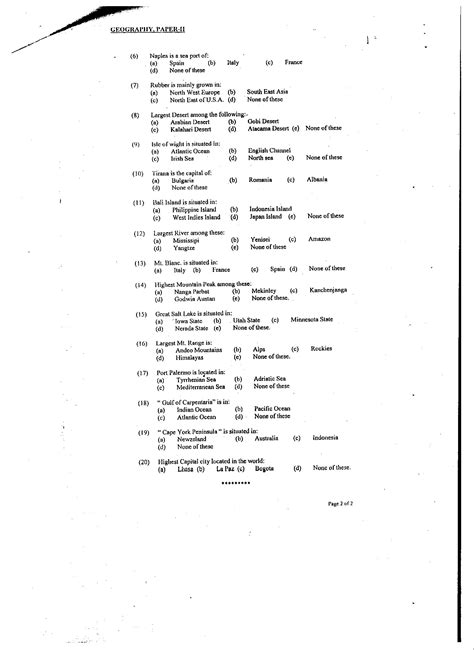 layout of a geography report css geography past papers of year 2001