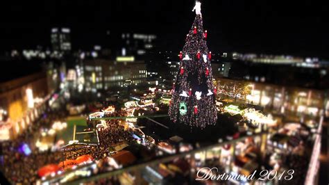 dortmunder weihnachtsbaum 2013 er 246 ffnung wie er angeht