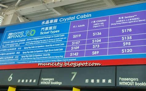 Hong Kong Et Ticket Ngong Ping 360 Single Trip Hongkong Tiket Dewasa lalalaland ngong ping 360