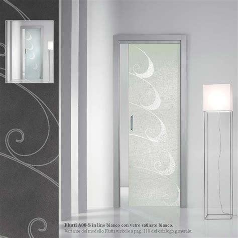 porta vetro satinato porta flutti lino bianco con vetro satinato bianco mdbportas