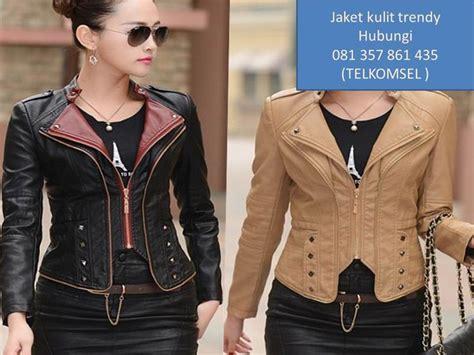 model jaket kulit wanita modern model jaket kulit wanita 2016 model jaket kulit wanita