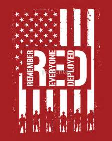 quot r e d remember everyone deployed quot stickers by