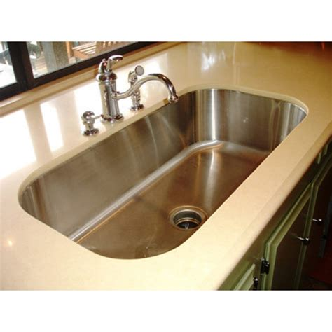 How To Undermount Kitchen Sink 30 Inch Stainless Steel Undermount Single Bowl Kitchen Sink 18
