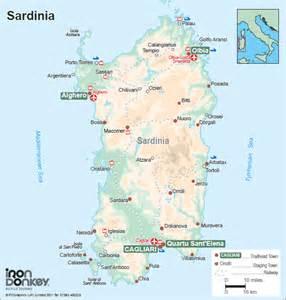 Sardinia Italy Map by Gallery For Gt Sardinia Italy Map