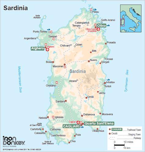 sardinia map sardinia airports map map of the airports in sardinia sardinia map book covers