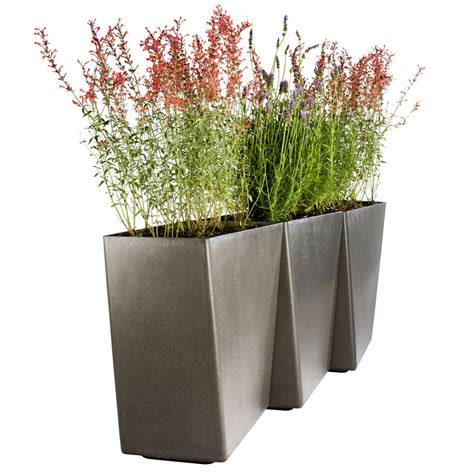 Modern Outdoor Planters by Outdoor Pots Planters Modern Patio Outdoor