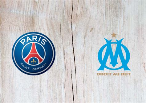 psg  olympique marseille full match highlights
