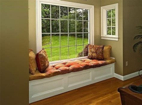 how to decorate a window seat bay window with window seat decorating ideas home