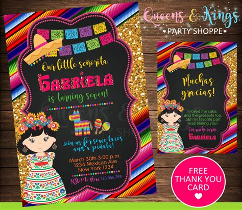 Mexican Party Mexican Invitation Fiesta Invitation Mexico Mexican Invitation Templates Free