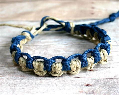 Hemp Knots - want to make bracelets using string 25 ideas here