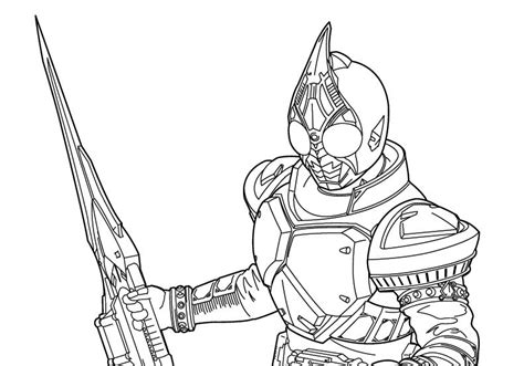 kkamen rider colouring pages