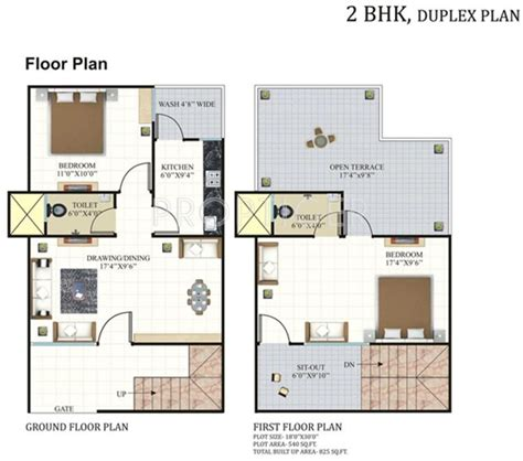 2bhk plan for 500 sq ft 825 sq ft 2 bhk 2t villa for sale in rai homes india