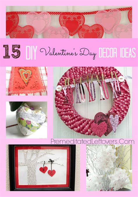 diy valentines decorations 15 diy valentine s day decor ideas