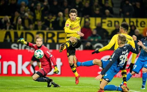christian pulisic vs hoffenheim borussia dortmund can finally afford to give christian