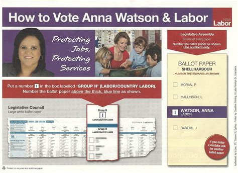 how to cards watson labor how to vote card david mallard
