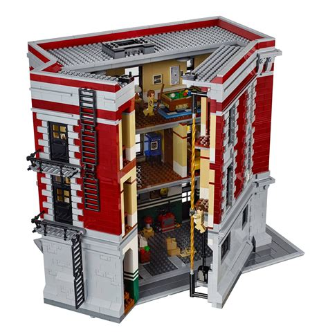 lego headquarters lego reveal their new ghostbusters hq with facebook page