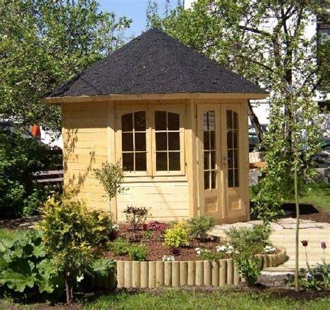 Gartenhaus Achteckig