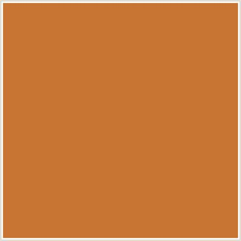 c87533 hex color rgb 200 117 51 copper orange