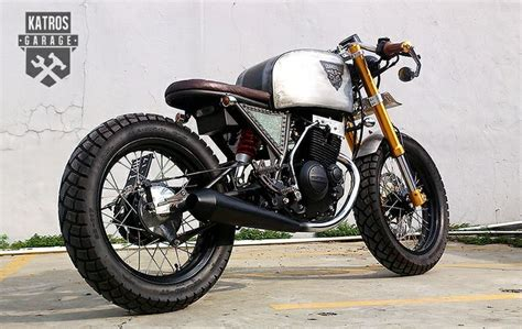 Suzuki Thunder 125 Cafe Racer Thunder 125 Madmax Caferacer Suzuki Custommotorcycle