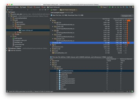 apk analyzer android developers android studio 2 2