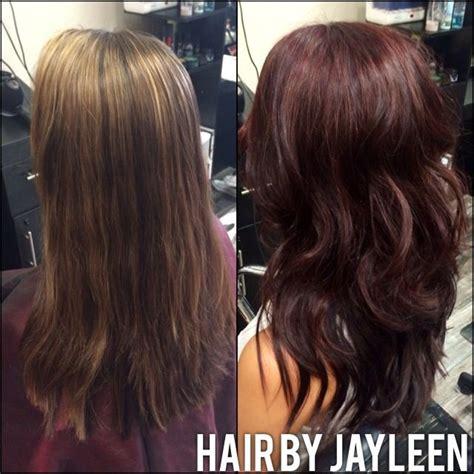 hot toffee hair colour chocolate cherry hair color matrix hair color fashion