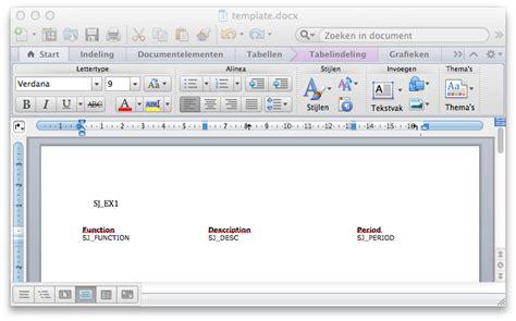 create complex word docx documents programatically