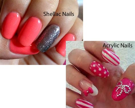 Shellac Nails by Shellac Nails Vs Acrylic Nails Ilookwar