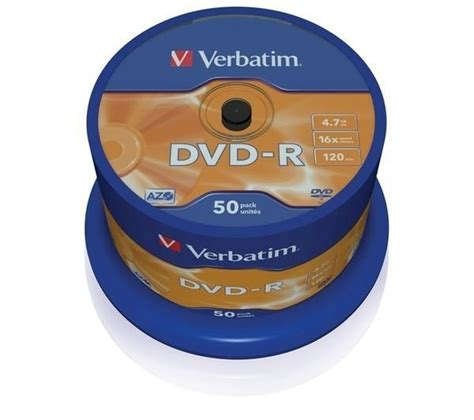 Dvd Kosong Sony Dvd R 16x verbatim 16x speed dvd r blank dvds pack of 50 deals pc world