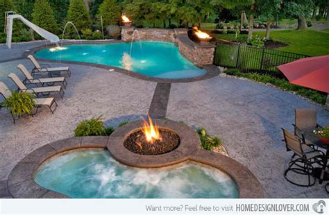 firewater combo   traditional pools  fire pits