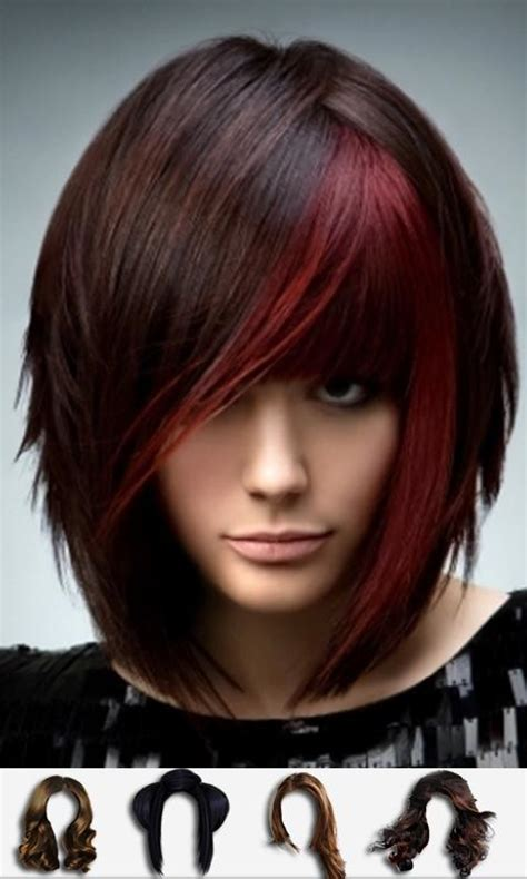 hairstyles for short hair app hair style changer android apps on google play