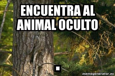 imagenes ocultas de la naza meme personalizado encuentra al animal oculto 2554186
