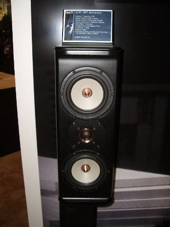 snell lcr  anniversary speakers audioholics