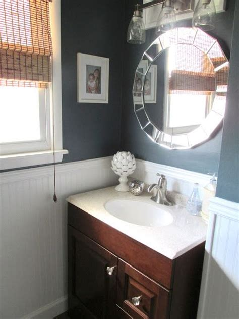 Valspar Bathroom Paint by Paint Valspar Relaxed Navy Lowes House Renovation