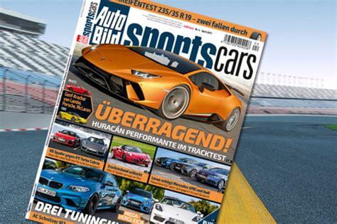 Auto Bild Sportscars 4 2017 sommerreifen test 2017 235 35 r 19 autobild de