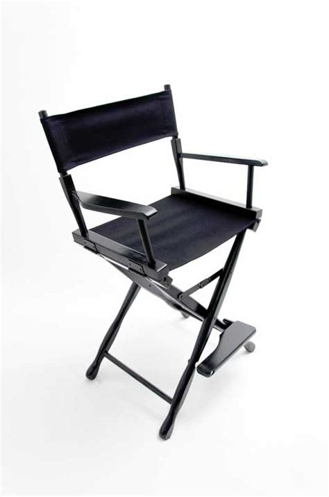 Canvas Directors Chair by Gold Medal Directors Chair Classic Black 24 Quot Black Canvas