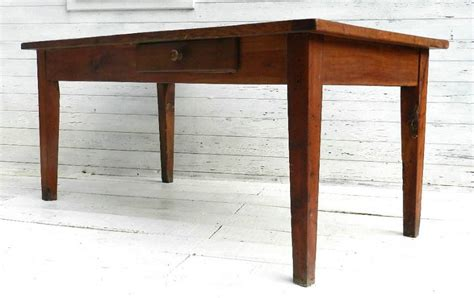 provincial dining table cherry wood farmhouse