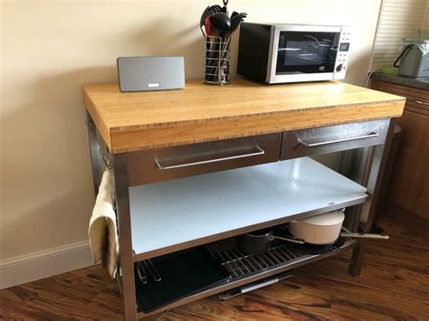 ikea rimforsa kitchen workbench  southside glasgow