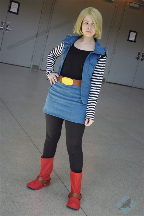 android 18 costume con android 18 by vandorwolf on deviantart